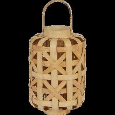 Lanterne en bambou H32cm-BADA