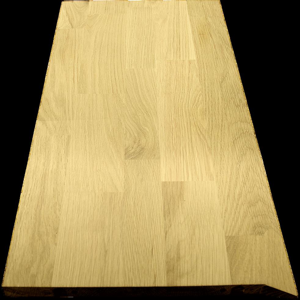 Tablette biseautée en chêne clair L69.9cm-FINE