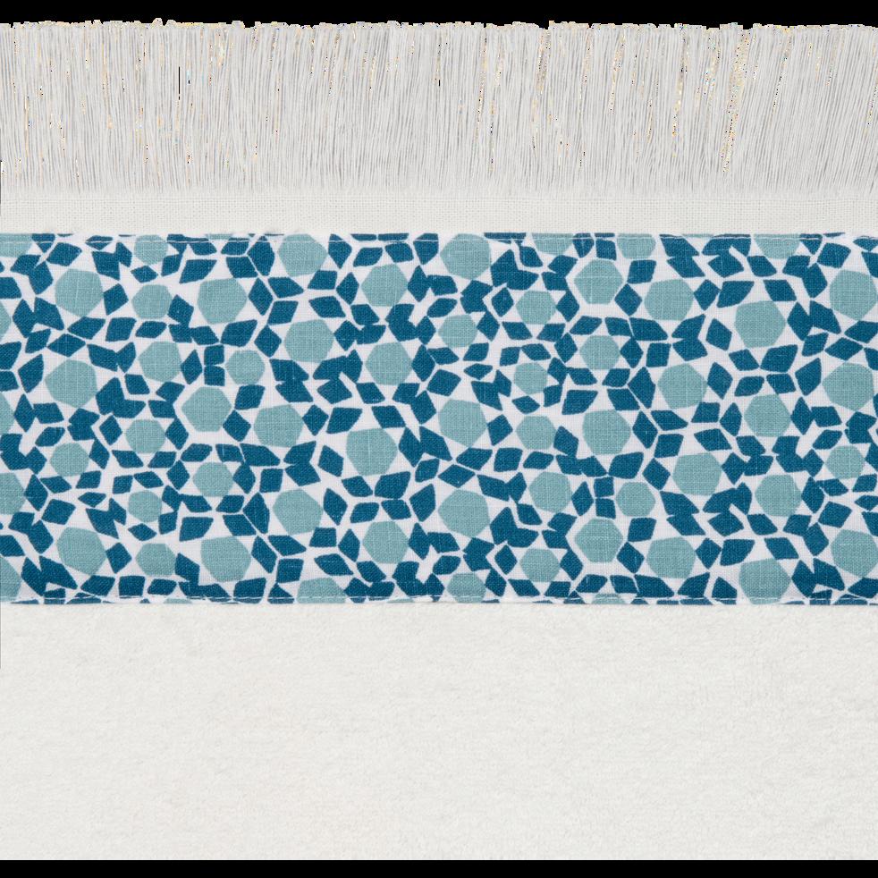 serviette d'invité 30x50 cm blanc capelan-ZELLIA