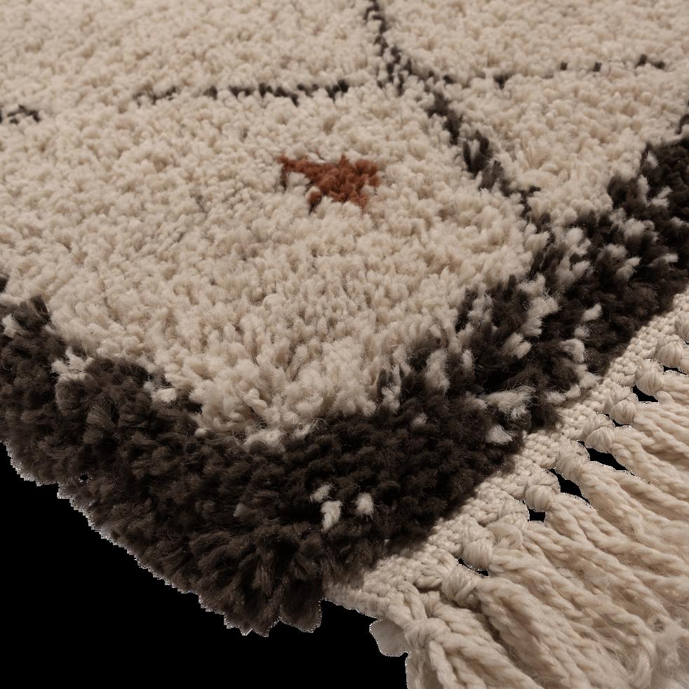 Tapis franges esprit berb re 120x170cm aramon 120x170 cm grands tapis de salon alinea - Tapis alinea salon ...