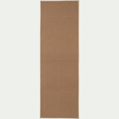 Tapis de couloir en jute - naturel 60x180cm-MAGNOLIAS