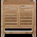 Meuble sous vasque avec portes 80cm-Danong