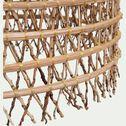 Suspension fait main en fibre de palmier - D45xH80cm-ORIA