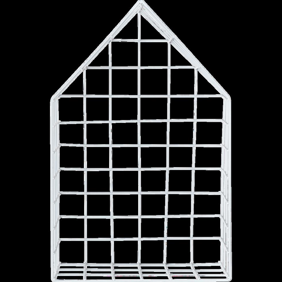 Étagère murale en fer blanche-DOM