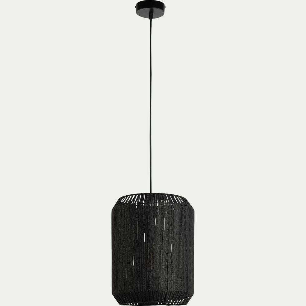 Suspension en métal 31cm - noir-CAMPA