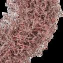 Couronne rose de fleurs d'asperge D60cm-SIAM