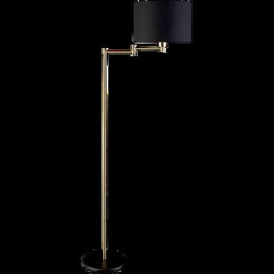Lampadaire en métal doré H147,5cm-MARIUS