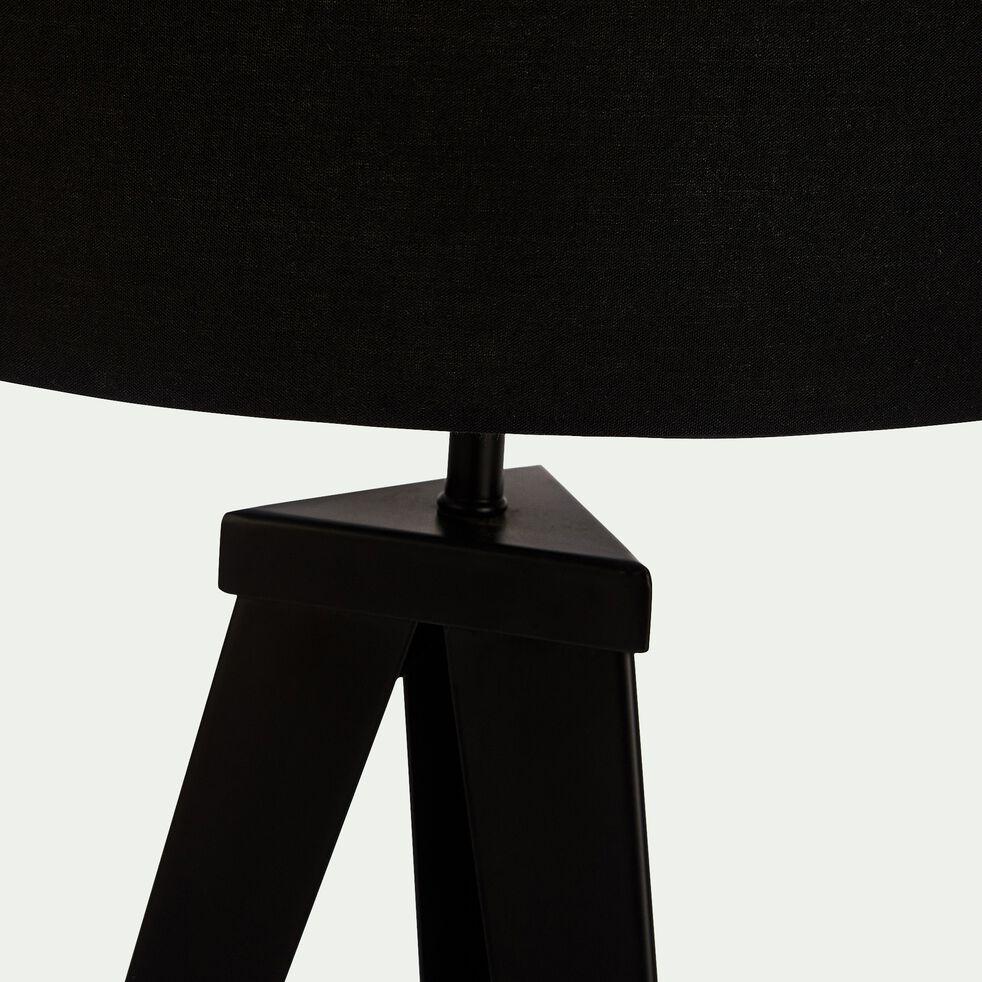 Lampe à poser en métal H63xD35cm - noir-TRIX