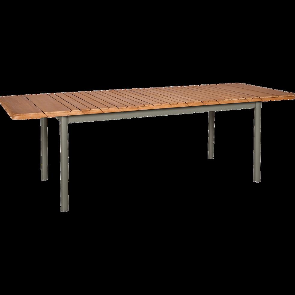 Table de jardin extensible kaki en eucalyptus 6 10 places gladys tables de jardin alinea - Table jardin eucalyptus colombes ...