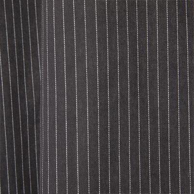 Voilage en coton sergé à rayures 135x250cm-ALPHONSE