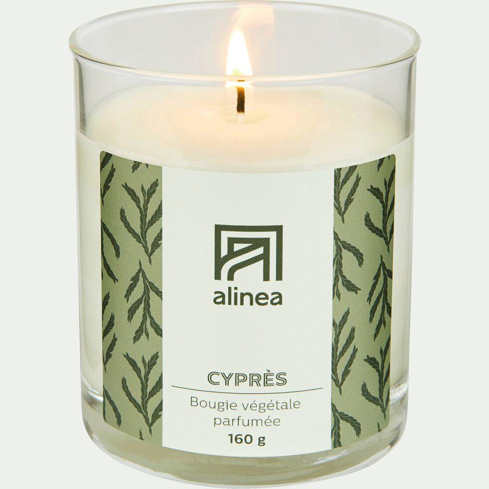 Bougie parfumée senteur Cyprès 160g-CYPRES
