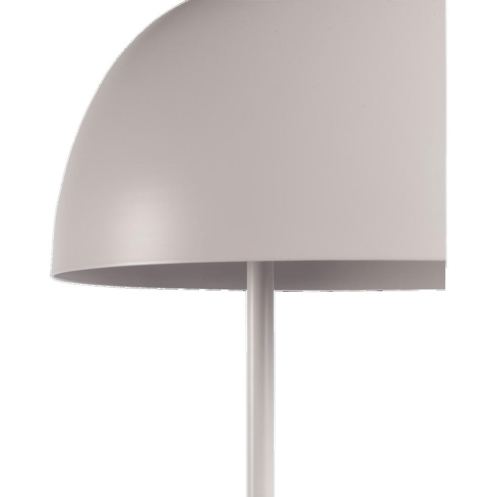 Lampadaire en métal blanc nougat H146,5cm-LOLLY