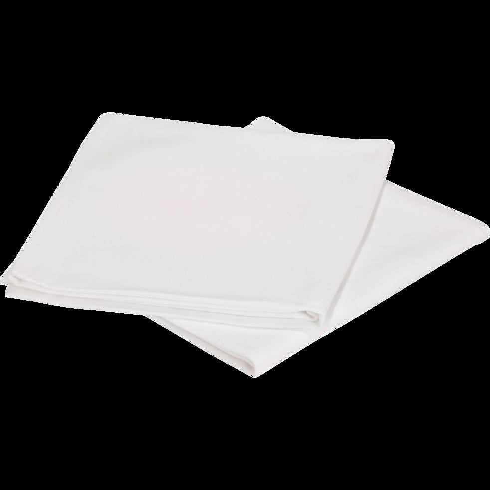 Lot de 2 protège-oreillers en coton - 65x65 cm-BREATH