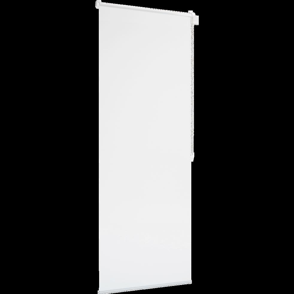 Store enrouleur voile blanc 42x170cm-EASY VOILE