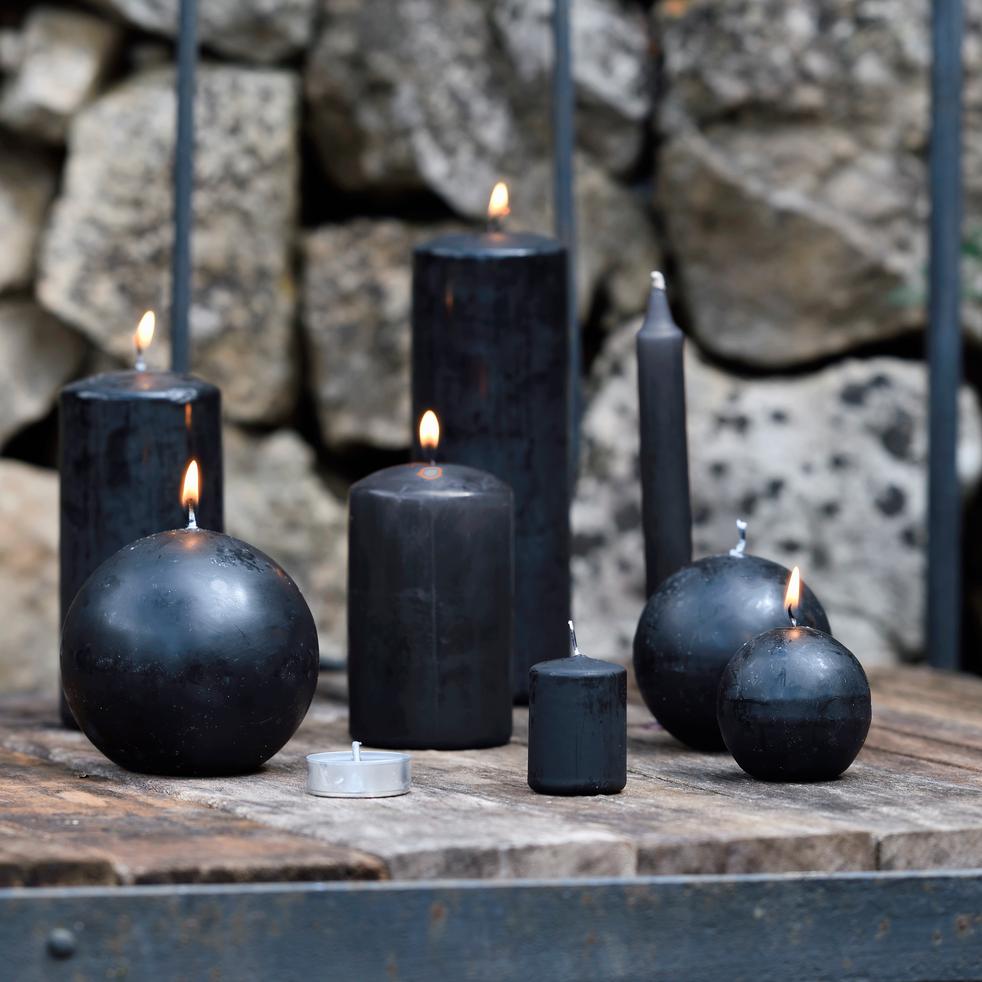 4 bougies votives gris calabrun-HALBA