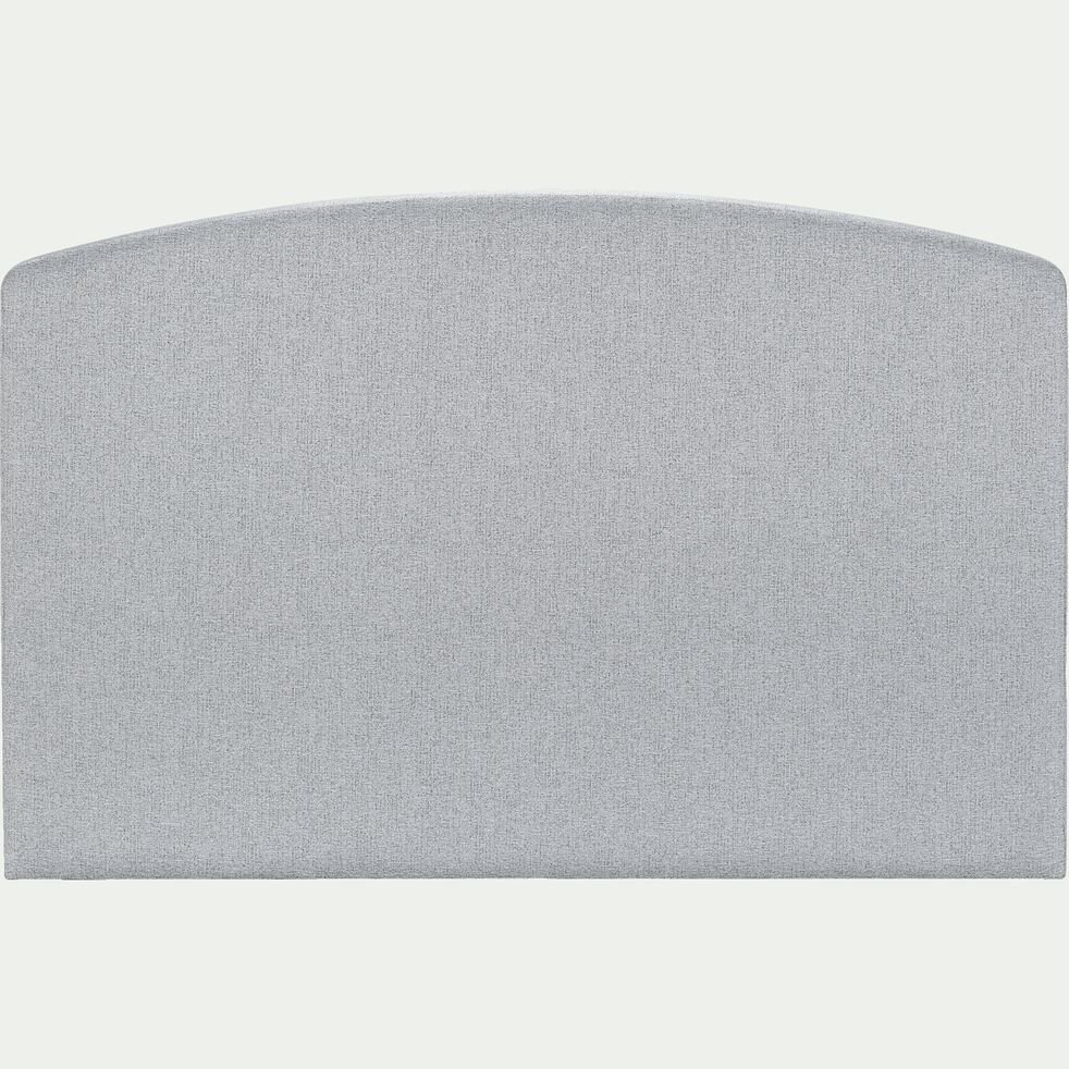 Tête de lit galbée - gris clair 190cm-CORTIOU