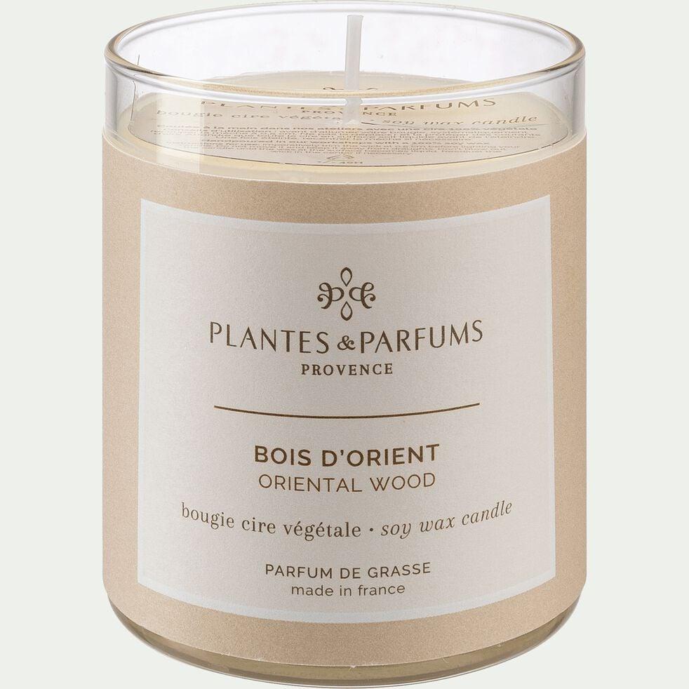 Bougie parfumée senteur Bois d'Orient 180g-BOIS D'ORIENT