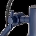 Applique orientable en métal bleu myrte H30xD14cm-BEYA