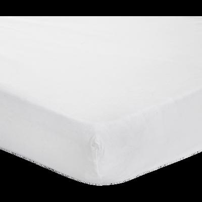 Protège-matelas en coton traité Aegis 160x200cm bonnet 30cm-HEWA