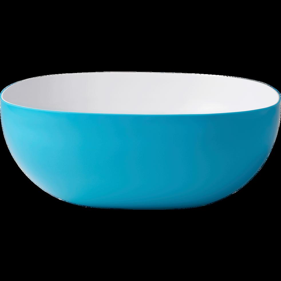 Saladier bicolore bleu et blanc - 4L-FLASH