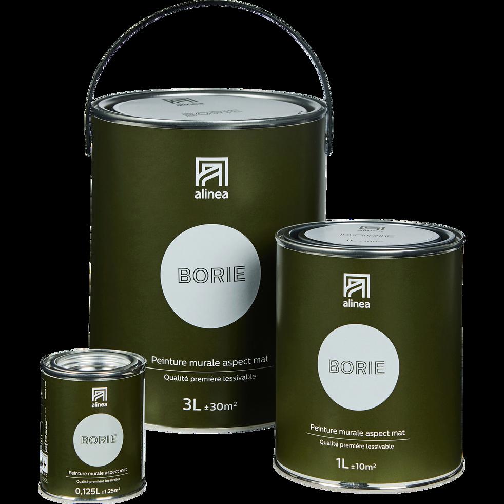 Peinture acrylique mate multi-supports 3L gris borie-PEINTURE