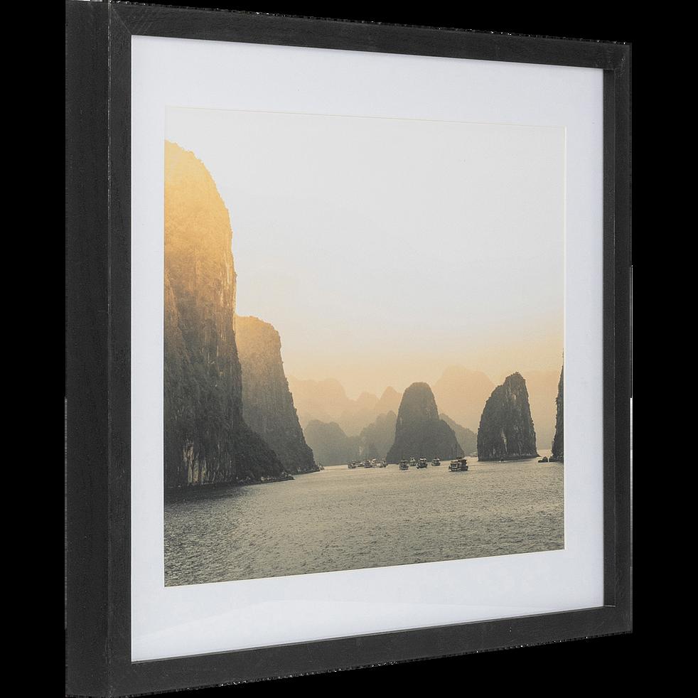 Image encadrée Long Bay Vietnam 40x50cm-ALONG