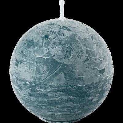 Bougie boule bleu niolon-BEJAIA