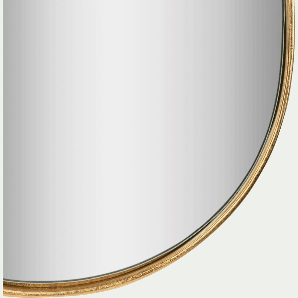 Miroir allongé cadre doré 92x22 cm-DOURO