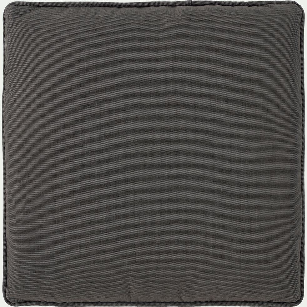 Galette de chaise gris restanque 34x34cm-Aldo