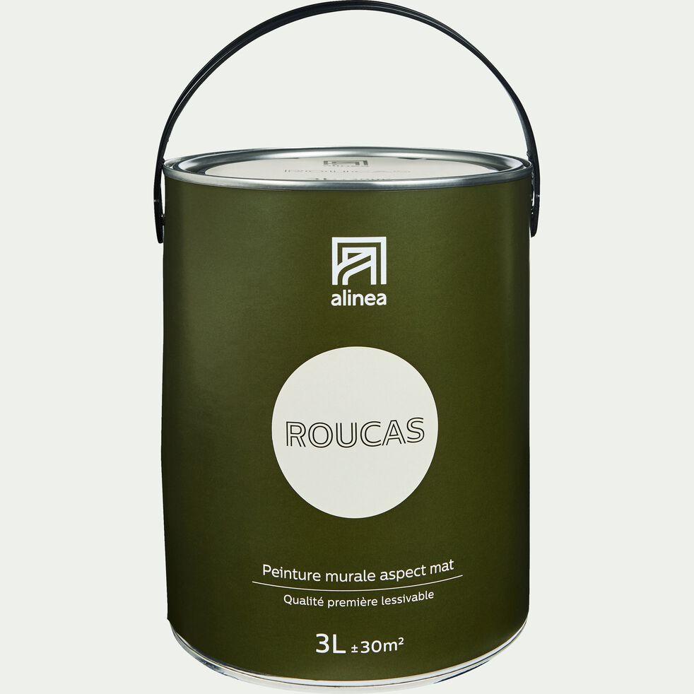 Peinture acrylique mate multi-supports - beige roucas 3L-PEINTURE