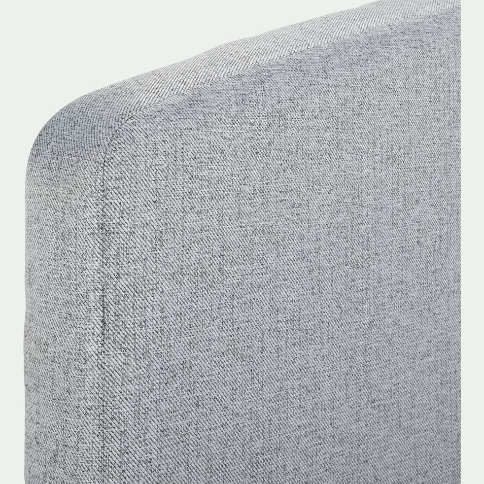 Tête de lit galbée - gris clair 170cm-CORTIOU