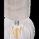 Suspension en marbre blanc H8,5xD6,5cm-PRAO