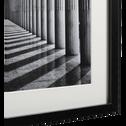 Image encadrée noir et blanc 40x50cm-FELIX