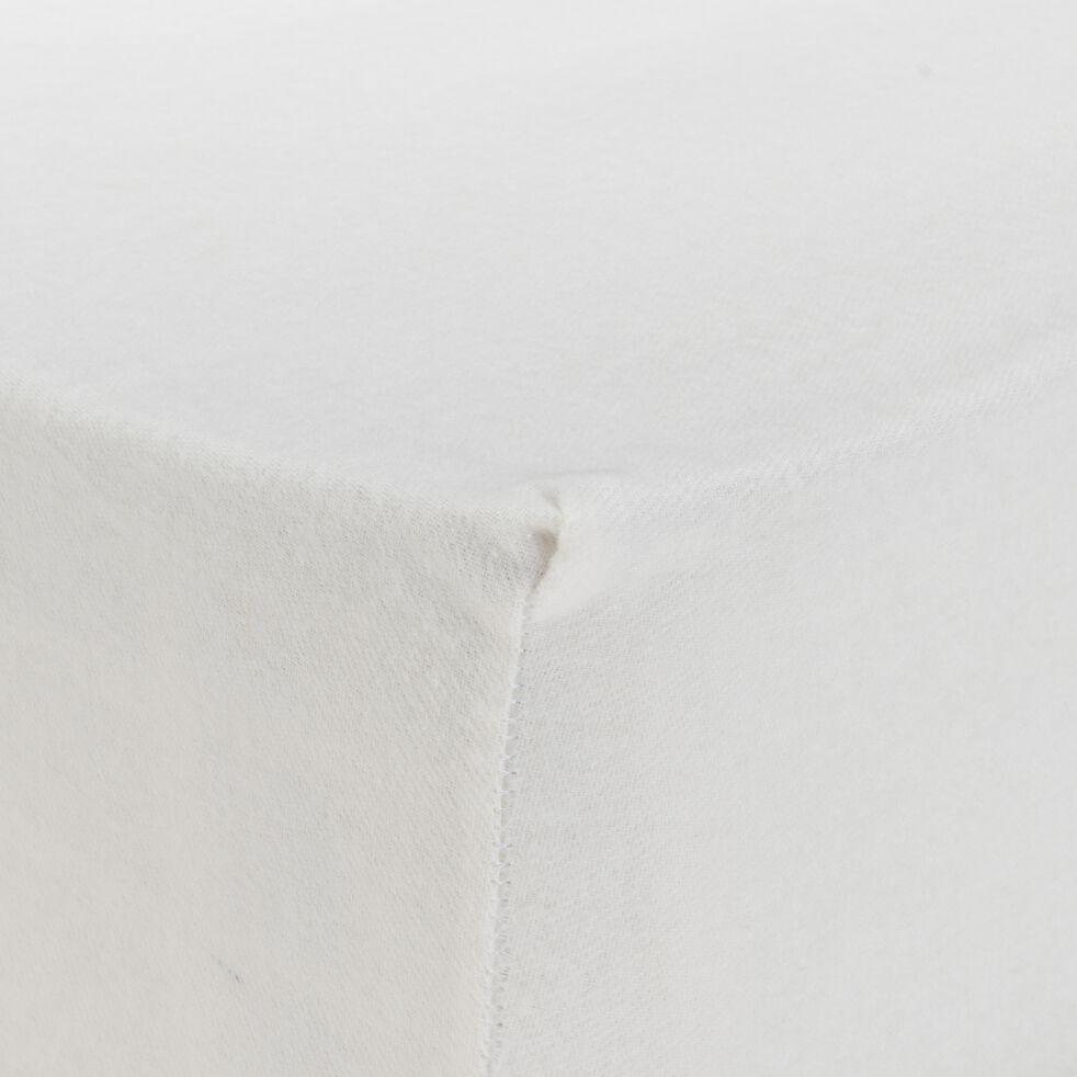 Protège-matelas en coton bio 200x200cm bonnet 30cm-BORIE