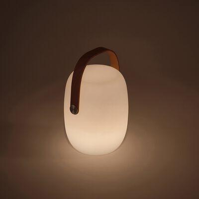 Lampe nomade extérieur - blanc D18xH2cm-FLUVI