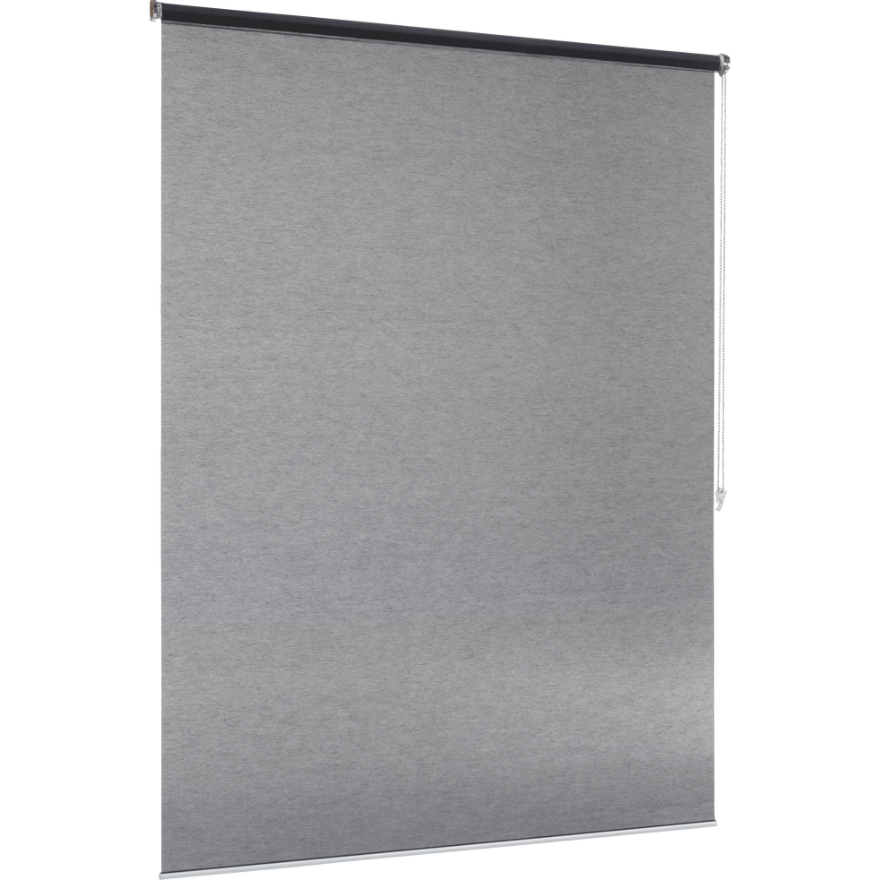 Store enrouleur voile gris anthracite 80x250cm-VOILE