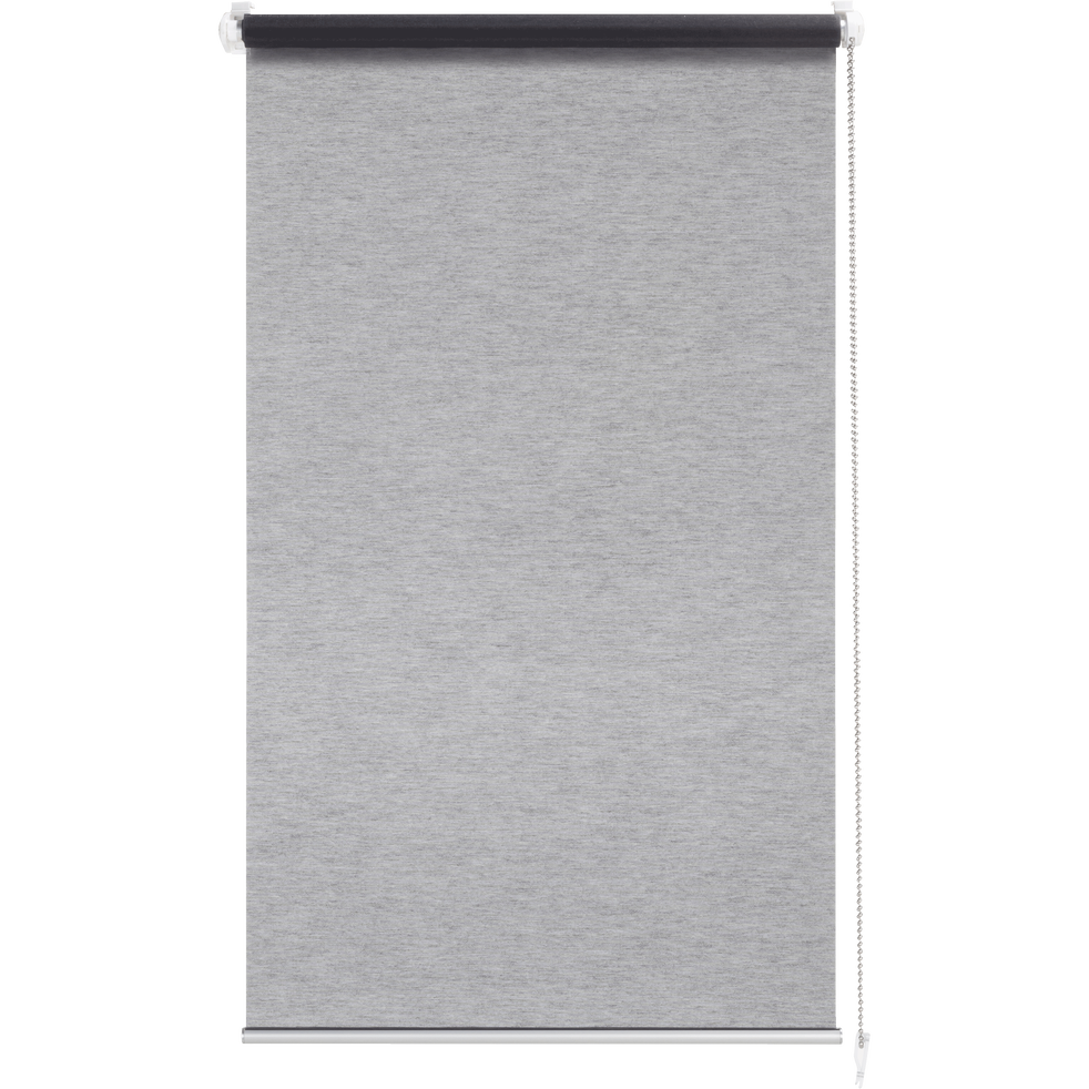 Store enrouleur voile gris 42x170cm-EASY VOILE