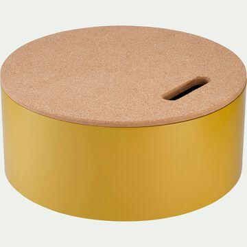 Boîte de rangement décorative - jaune millepertuis-Corko
