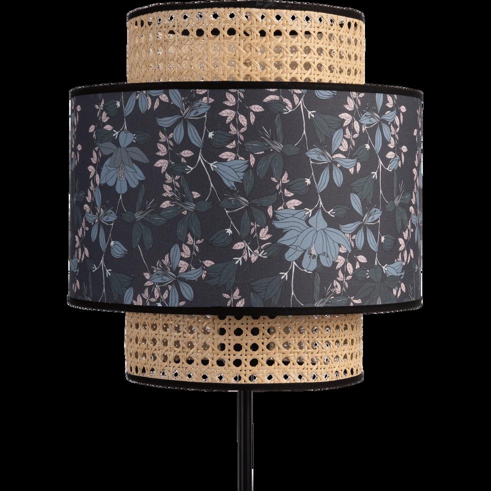 Abat-jour  suspension fleuri D30cm-JARDIN