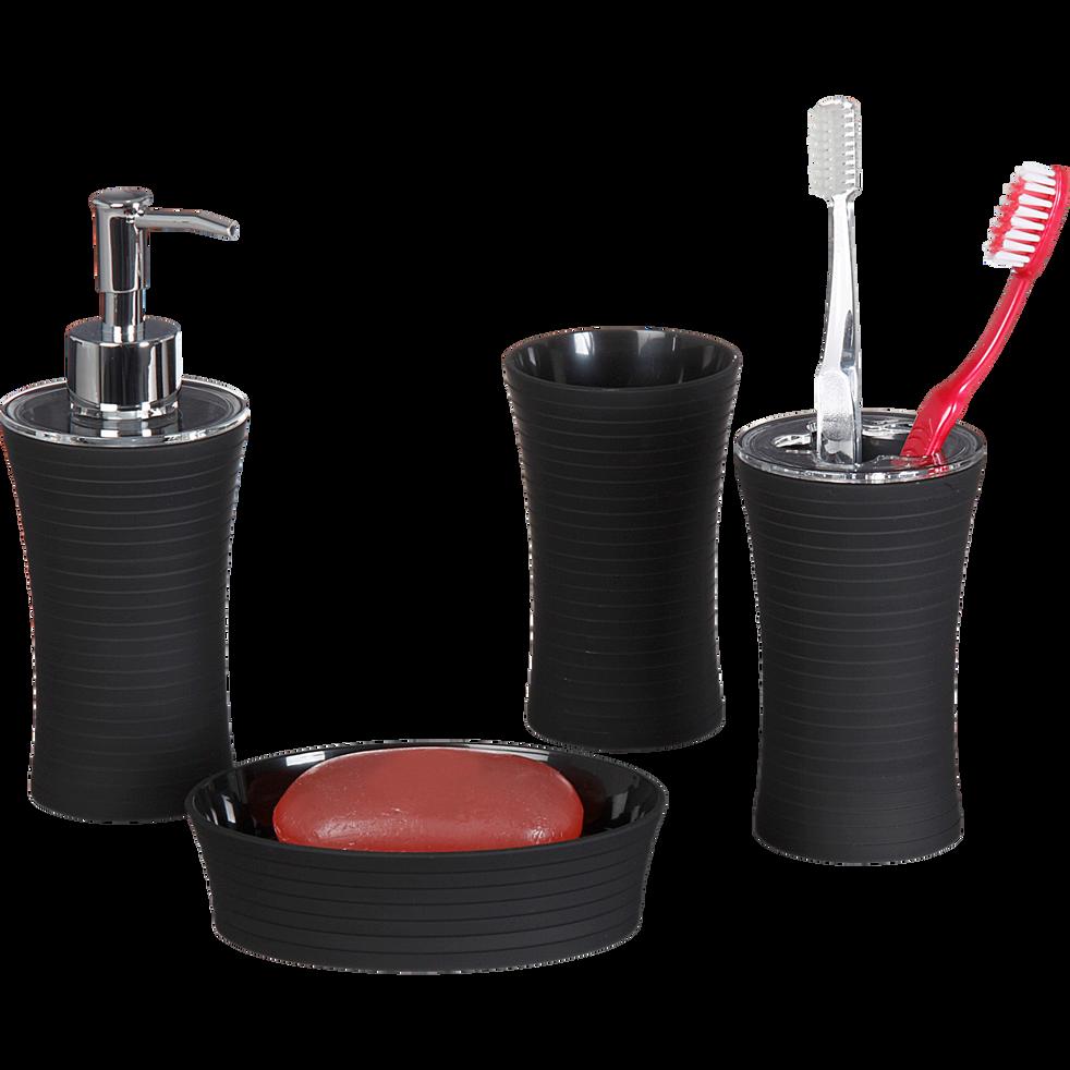 Porte savon plastique noir-Slup