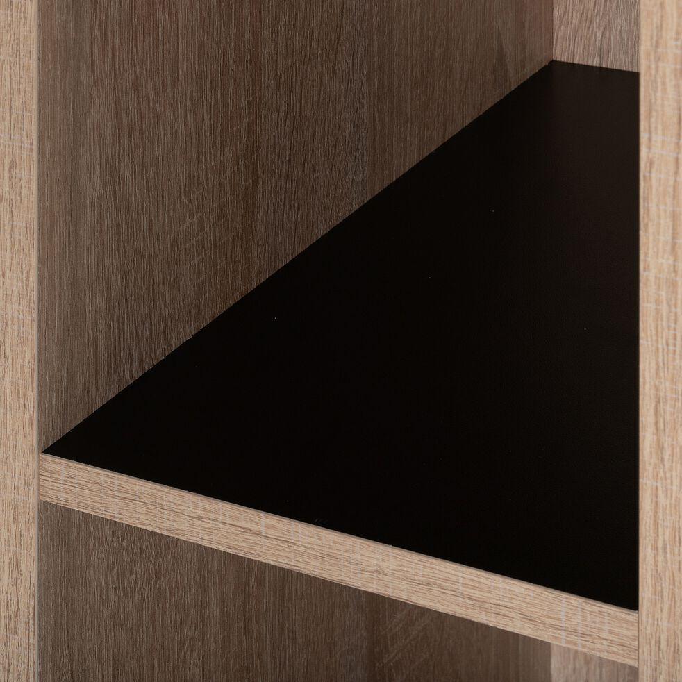 Tête de lit en bois l100cm - effet chêne blanchi-BALME