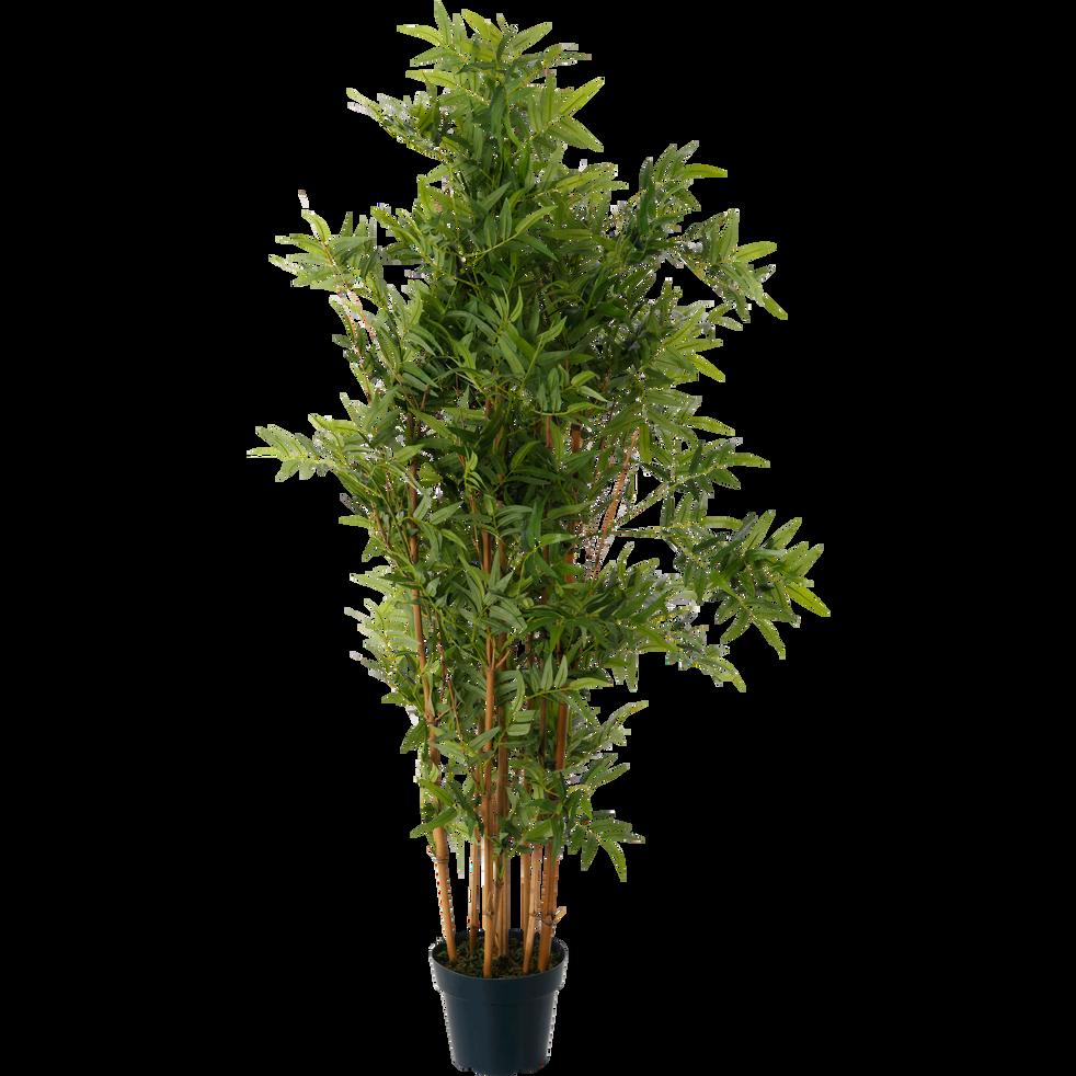 plante artificielle hauteur 120cm bambou plantes artificielles alinea. Black Bedroom Furniture Sets. Home Design Ideas
