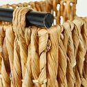 Caisse en jonc de mer tressé - naturel H21xL36cm-HAYE