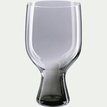 Verre gris en verre 39cl-CLAUDIA