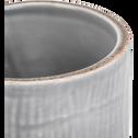 Gobelet gris clair en céramique-PREPPY