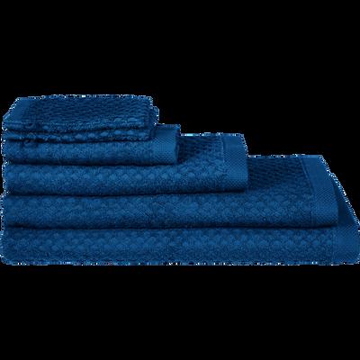 Linge de toilette bleu figuerolles-ETEL