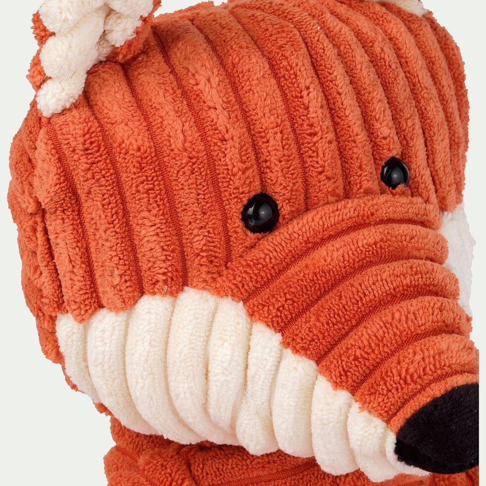 Peluche renard - orange h26cm-Cordy