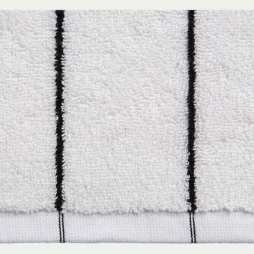 Drap de douche en coton - blanc ventoux 70x140cm-Gaeta