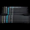 Housse pour clic-clac 130cm noire à motifs-COLORS