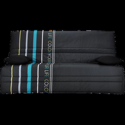 banquette clic clac canap s bz alinea. Black Bedroom Furniture Sets. Home Design Ideas